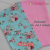 PRCK204	Perca Katun Couple 204 (Motif uk 48x72cm Polkadot uk 48x53cm)