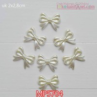 MP5704	Mote Pear Pita uk 2x2,8cm ( 1 Bungkus isi 6)