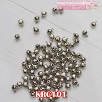 KRC101 Bel Krincingan Silver uk. 6mm