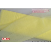 KTK02	Kain Tile Kaku warna Baby Yellow uk 1mx120cm