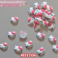 MTT706	Resin Hello Kitty Pita Pink lebar (Per Satuan)